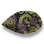 PAISLEY Bowl yellow-black