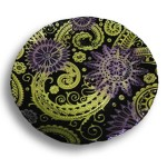 PAISLEY PLATOU Yellow-black