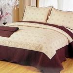Cuvertura de pat East Confort matlasata din bumbac brodat C19