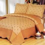 Cuvertura de pat East Confort matlasata din bumbac brodat C11