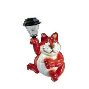Кот с фонарем Фонарик  0.45m  121