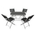 Set masa+4 scaune pentru terasa