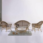 Set mobila B019 (antique gold)