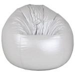 Fotoliu-sac Bean bag  (culoare silver)