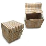 Coșulet din bambus