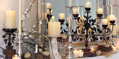 Lumânări, candelabre