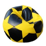 Fotoliu-sac Football BIG STAR Black&Yelow (00-08)