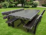 Masa pentru grădină din lemn
